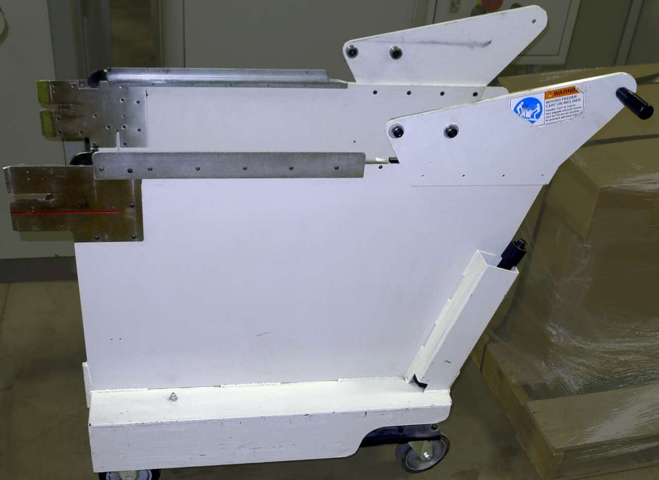 Universal Feeder Bank Exchange Cart Accessory