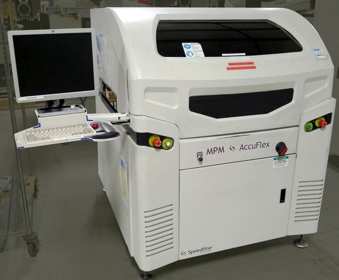 Speedline MPM Accuflex Screen Printer