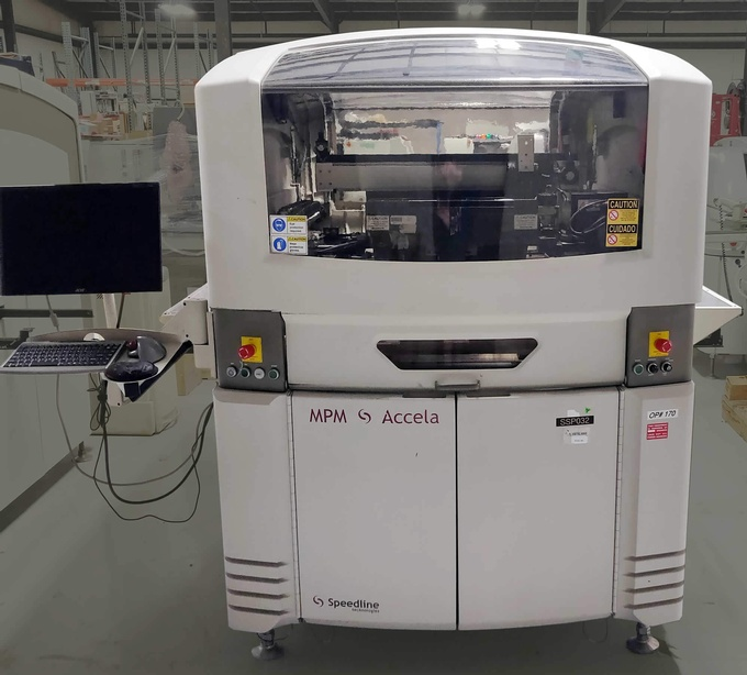 Speedline MPM Accela Screen Printer