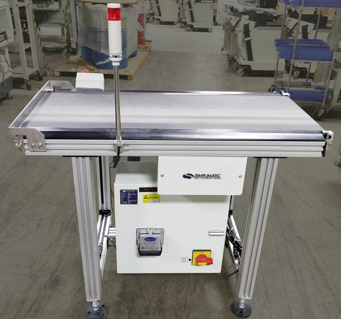 Simplimatic 3170 Flat Belt Conveyor