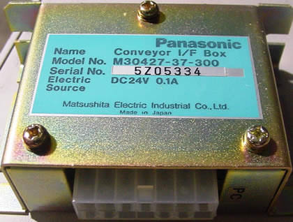 Panasonic Conveyor I/F Box (PN: M30427-37-300): click to enlarge