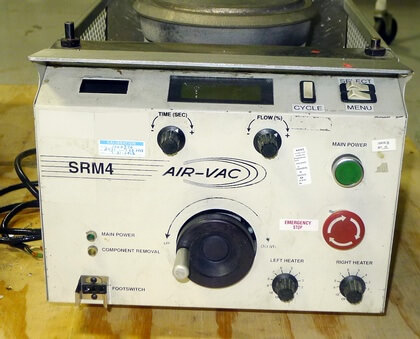 AIR-VAC SRM4 Solder Fountain: click to enlarge