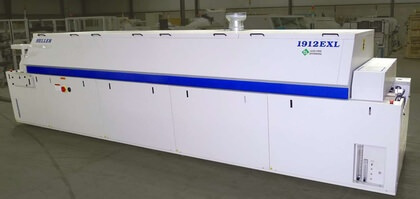 Heller 1912 EXL Reflow Oven: click to enlarge