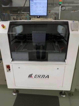 EKRA E5 Screen Printer: click to enlarge
