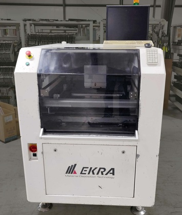 EKRA X5 Screen Printer: click to enlarge