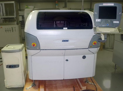 DEK Infinity Screen Printer: click to enlarge