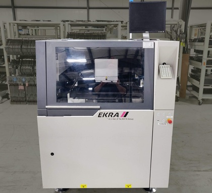 EKRA XACT4 Screen Printer: click to enlarge