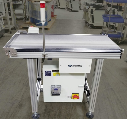 Simplimatic 3170 Flat Belt Conveyor: click to enlarge